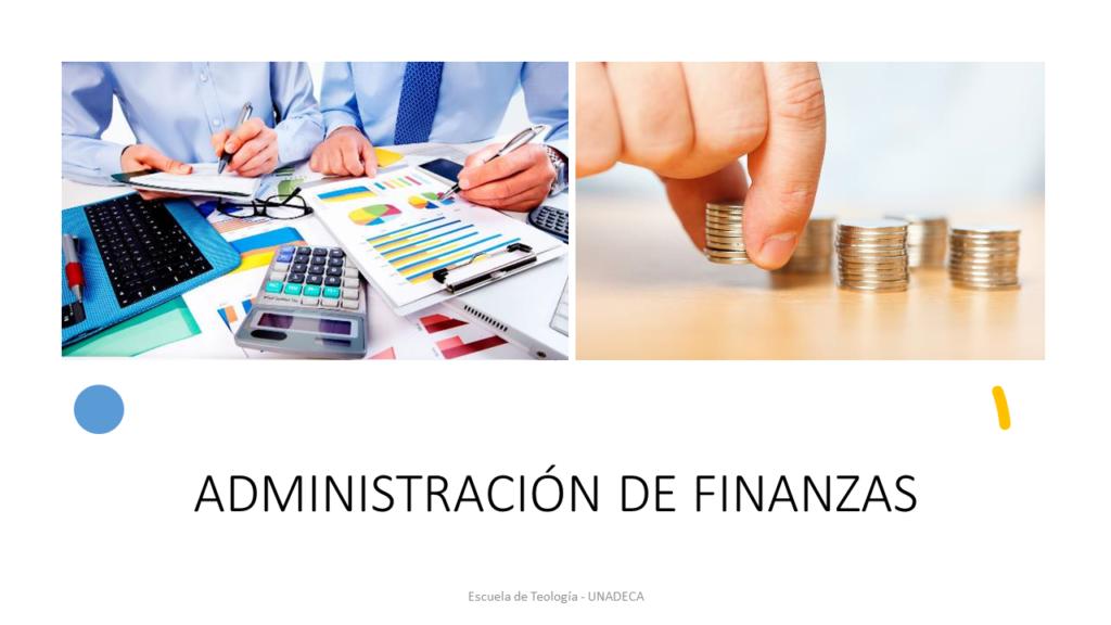 Administración de Finanzas