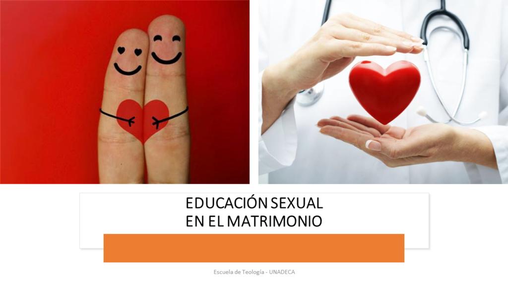 Educación sexual en el matrimonio